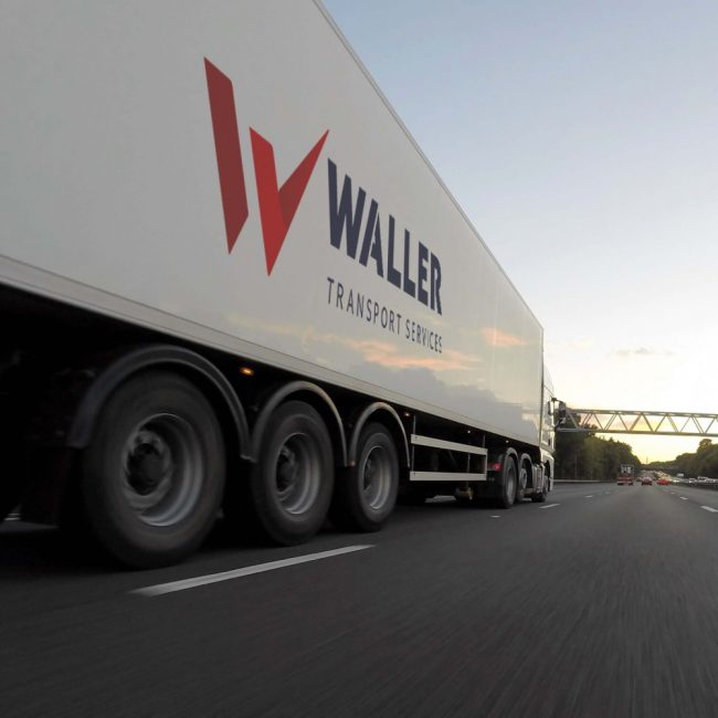Haulage Companies in Yorkshire - Waller Transport Services Van